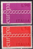ITALIE - Europa CEPT 1971 - 6. 1946-.. Repubblica