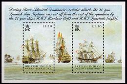 B.I.O.T. 2005 - Bateaux, Bataille De Trafalgar - BF Neufs // Mnh - Territoire Britannique De L'Océan Indien