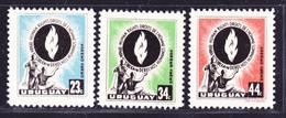 URUGUAY AERIENS N°  165 à 167 ** MNH Neufs Sans Charnière,  TB  (D2466) - Uruguay