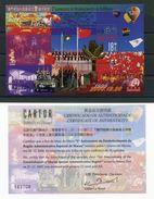 "Macau - Block Nr. 85 - ""1. Jahrestag Sonderverwaltungszone"" ** / MNH - 1999-... Sonderverwaltungszone Der China"