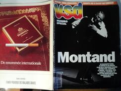 VSD N°741 DU 14 NOVEMBRE 1991. YVES MONTAND FRANCOIS SIEGEL / AZNAVOUR / - Cinéma