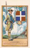 Military Uniforms Captain Of Grenadiers 53rd Languedoc Regiment Fort Ticonderoga Curteich - Uniforms