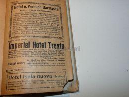 Gardasee Lago Di Garda Hotel PensionImperial Hotel Trento Hotel Isola Nuova Trient Nago Torbole Tirol Austria Italy 1914 - Publicidad