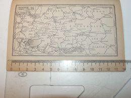 Bayern Deutschland Schweiz Osterreich Italy Slavien Map Karte - Mappe