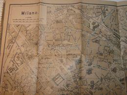 Milano Italy Map Karte - Mappe