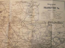 Frankfurt Germany Map Karte - Karten