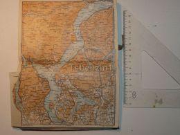 Lago Maggiore Italy Map Karte 1908 - Mappe