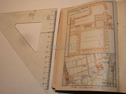 Certosa Di Pavia Italy Map Karte 1908 - Mappe