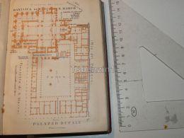 Venezia Palazzo Ducale Basilica Di S. Marco Italy Map Karte 1908 - Mappe