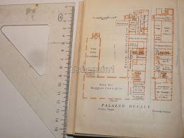 Venezia Palazzo Ducale Italy Map Karte 1908 - Mapas