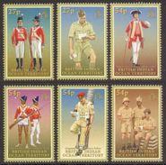 B.I.O.T. 2008 - Uniformes De L'armée Britannique - 6 Val Neufs // Mnh - Territoire Britannique De L'Océan Indien