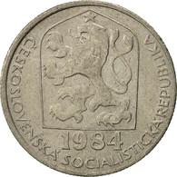 Tchécoslovaquie, 50 Haleru, 1984, TTB+, Copper-nickel, KM:89 - Czechoslovakia