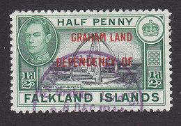 Falkland Islands Dependencies, Scott #2L1, Used, Ships Overprinted, Issued 1944 - Falkland Islands