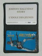 Johnny Halliday. P338. In Folder. Avec Encart. 2000ex. - Belgique