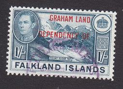 Falkland Islands, Graham Land, Scott #2L8, Used, Ship Overprinted, Issued 1944 - Falkland Islands