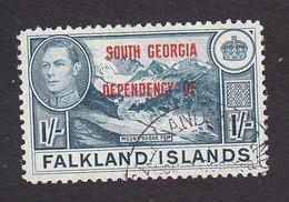 Falkland Islands, South Georgia, Scott #3L8, Used, Ship Overprinted, Issued 1944 - Falkland Islands