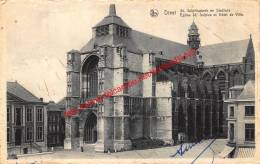 St. Sulpitiuskerk En Stadhuis - Diest - Diest