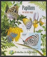 Burundi - 2012 - Bloc BF N°233 - Papillons - Non Dentelé / Imperf. - Neuf Luxe ** / MNH / Postfrisch - Schmetterlinge