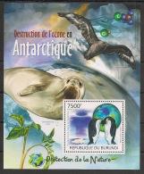 Burundi - 2012 - Bloc BF N°242 - Manchots - Neuf Luxe ** / MNH / Postfrisch - Penguins