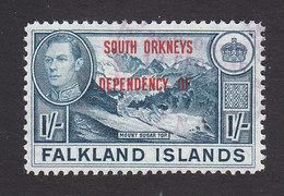 Falkland Islands, South Orkneys, Scott #4L8, Used, Ship Overprinted, Issued 1944 - Falkland Islands