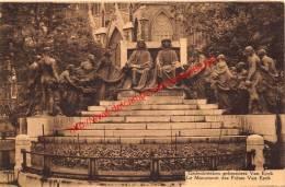 Gedenkteken Gebroeders Van Eyck - Gent - Gent
