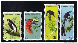 1973  Birds Of Paradise  Complete Set  Sc 365-8  MNH - Papua New Guinea