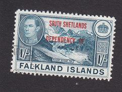 Falkland Islands, South Shetlands, Scott #5L7, Used, Ship Overprinted, Issued 1944 - Falkland Islands