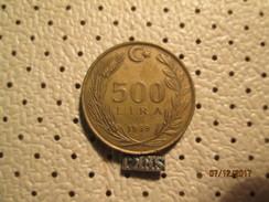 TURKEY 500 Lira 1989 # 6 - Turkey