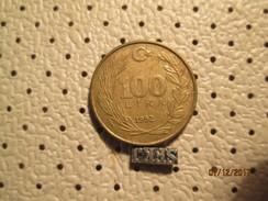 TURKEY 100 Lira 1992 # 6 - Turkey