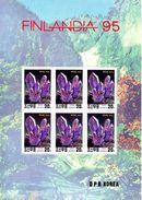 COREE DU NORD 1995 Mineraux (Yvert EXPOSITION FINLANDIA 95) BLOC ** MNH, Neuf Sans Charniere  REF950 - Corea Del Nord