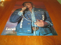 JOHNNY HALLIDAY POSTER COLOR 18 BY 11 - Posters