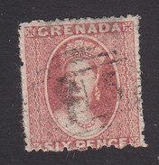Grenada, Scott #4, Used, Victoria, Issued 1863 - Grenada (...-1974)