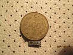 TURKEY 100 Lira 1989 # 6 - Turkey