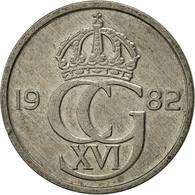 Suède, Carl XVI Gustaf, 50 Öre, 1982, TTB, Copper-nickel, KM:855 - Suède