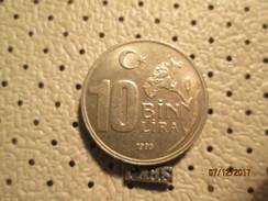 TURKEY 10 Lira 1995 # 6 - Turkey