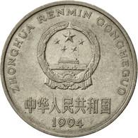 CHINA, PEOPLE'S REPUBLIC, Yuan, 1994, TTB, Nickel Plated Steel, KM:337 - China