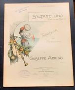 Musica Spartito - Saltarellina - Giuseppe Arrigo - Pianoforte - 1898 - Unclassified