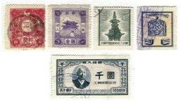 KOREA, Revenues, */o M/U, F/VF - Corée (...-1945)