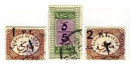 EGYPT, Revenues, Used, F/VF - Égypte