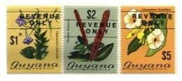 BRITISH GUYANA, Revenues, B&H 9/11, ** MNH, F/VF - British Guiana (...-1966)