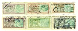 FRENCH GUINEA, Revenues, Used, F/VF - French Guinea (1892-1944)