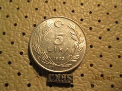 TURKEY 5 Lira 1985  # 6 - Turkey