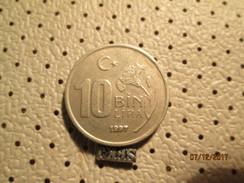 TURKEY 10 Lira 1997  # 6 - Turquie