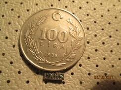 TURKEY 100 Lira 1986  # 6 - Turkey
