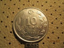 TURKEY 10 Lira 1985  # 6 - Turkey