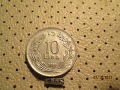 TURKEY 10 Lira 1981  # 6 - Turkey