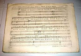 Rossini Gioachino – Otello Spartito 1816 - Vecchi Documenti