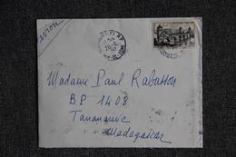 Lettre De CLERMONT FERRAND Vers MADAGASCAR - Postmark Collection (Covers)