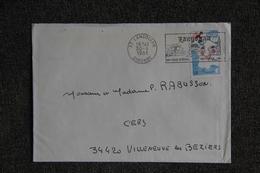 Lettre De LANGOIRAN (33) Vers CERS (34) - Marcophilie (Lettres)