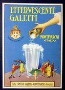 Pubblicità Effervescente Galeffi Montevarchi  1930 - Advertising